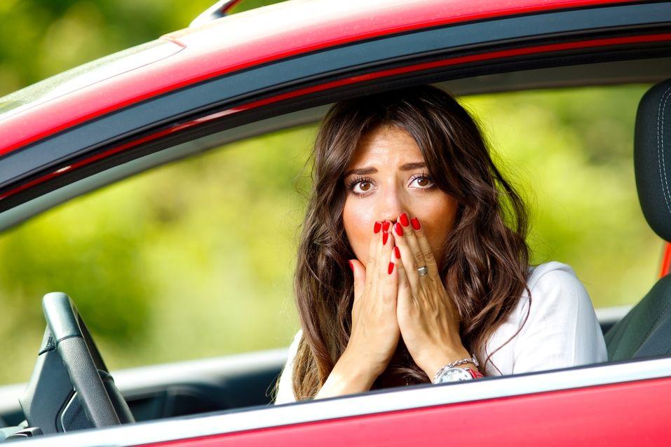 Most common car collision damages