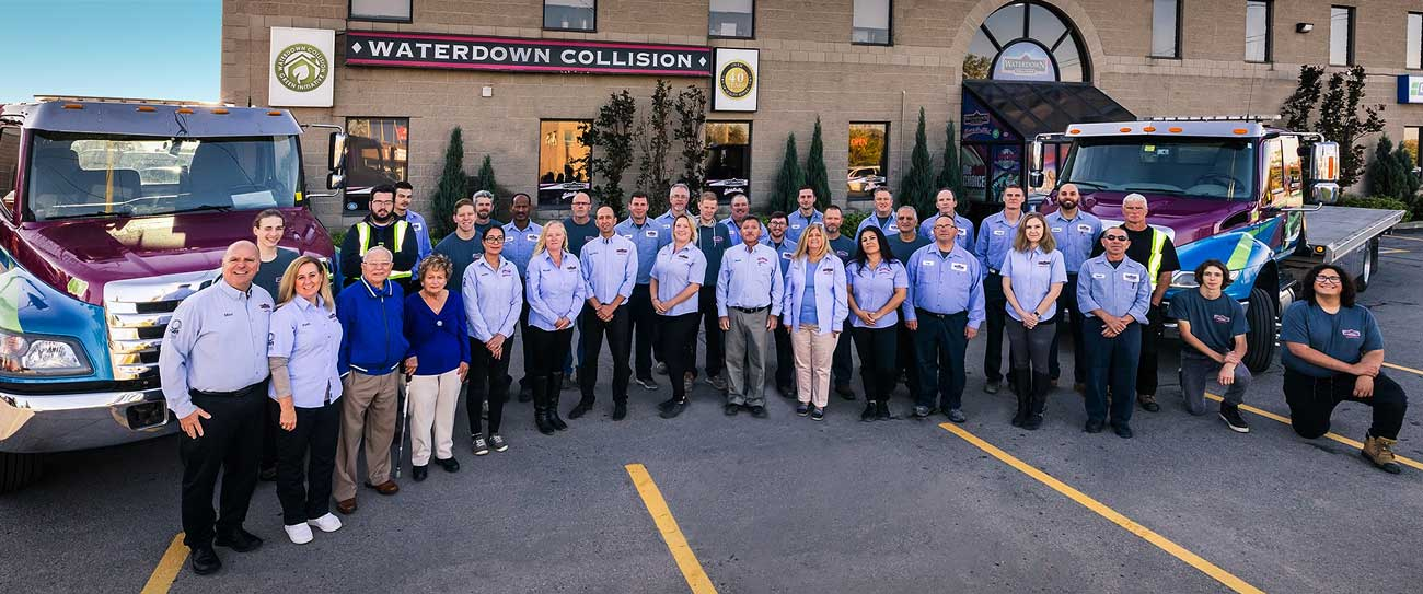 Waterdown Collision since 1974 - Leading insurance approved collision centre