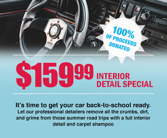 Waterdown Collision Interior Detail Special