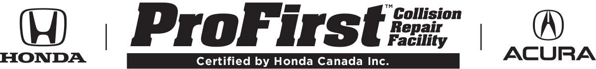 ProFirst Collision Repair Facility, Honda, Acura